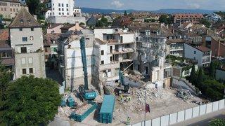 Nyon: cette fois, l'Hôtel Beau-Rivage a bel et bien perdu sa façade