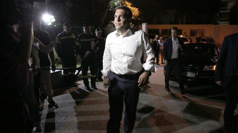 Grèce: le Premier ministre Tsipras se rend sur les lieux les plus touchés par les incendies