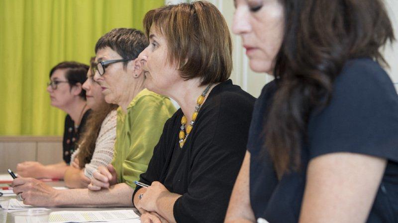 Berne: les politiciennes socialistes présentent un plan contre les violences faites aux femmes