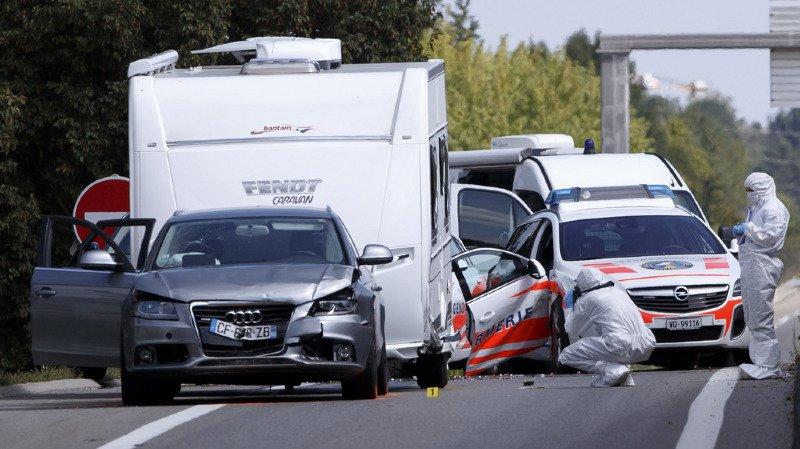 Gendarme vaudoise grièvement blessée lors d'une course-poursuite entre Vaud, Genève et la France