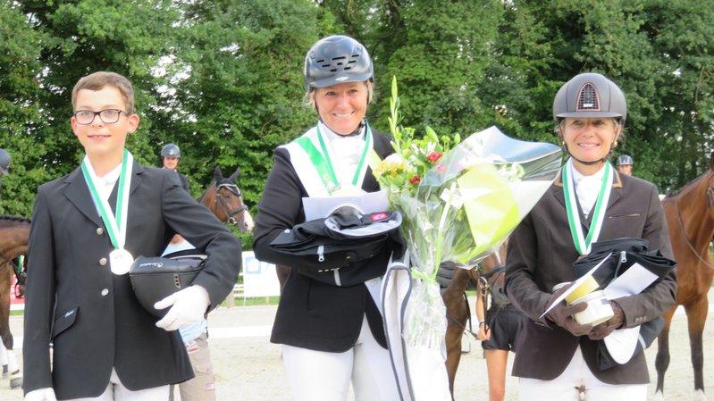Les cavaliers de La Côte trustent le podium au championnat vaudois de dressage