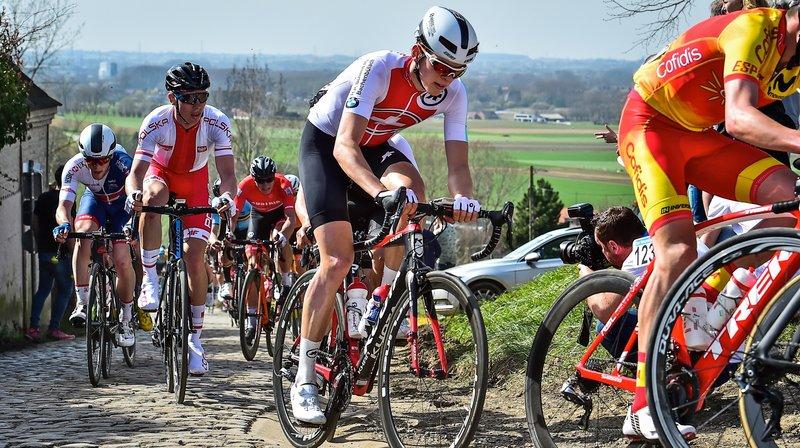 Cyclisme: le Morgien Robin Froidevaux sur la pente ascendante