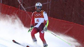 Ski alpin: le Valaisan, Justin Murisier, blessé, met un terme à sa saison