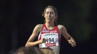 Européens de Berlin: médaille d'argent pour Fabienne Schlumpf sur 3'000 m steeple
