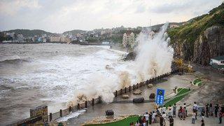 Chine: le typhon Yagi fait trois morts, plus de 200'000 personnes évacuées