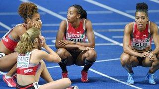 Européens de Berlin: les Suissesses au 4e rang sur 4x100m