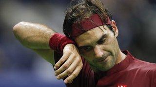 """Tennis - US Open: """"J'étais mal à l'aise sur le court"""", explique Roger Federer"""