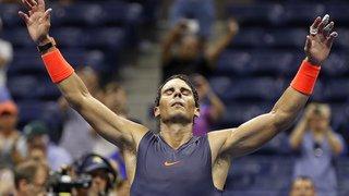 Tennis - US Open: Rafael Nadal se hisse en demi-finale après un match épique