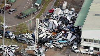 Japon: le plus puissant typhon jamais vu depuis 25 ans en images