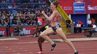 Athlétisme - Ligue de diamant à Birmingham: la Vaudoise Lea Sprunger gagne encore