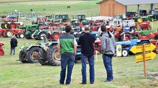 Berolle: les vieux tracteurs en images