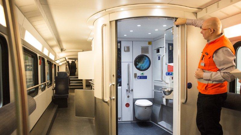 CFF: les toilettes des trains seront équipées de sprays parfumants