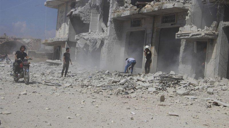 Syrie: Les raids russes  ont fait 18'000 morts dont 8000 civils