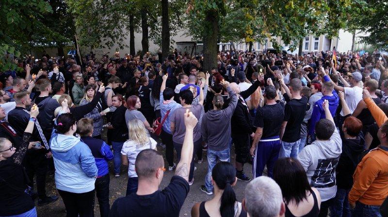 Allemagne: l'extrême droite de nouveau dans la rue
