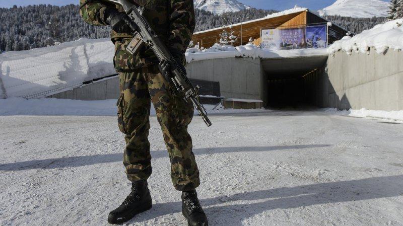 Forum de Davos: l'armée va contribuer à la sécurité du WEF jusqu'à 2021