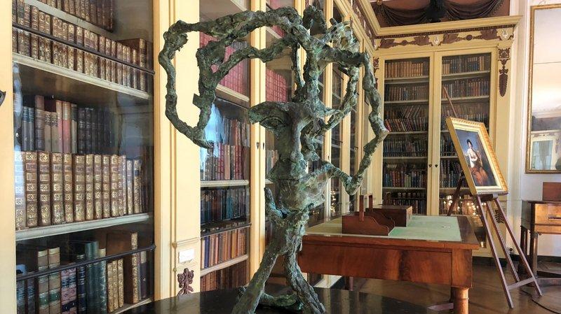 Coppet: un «buste» surprenant de Germaine de Staël