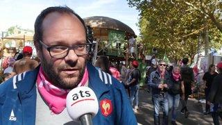 Manifestation pour l'égalité salariale à Berne