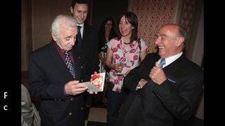 Le chanteur Charles Aznavour est décédé à l'âge de 94 ans