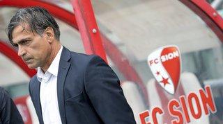 FC Sion: Jacobacci mis à pied avant le match de Coupe contre Lausanne