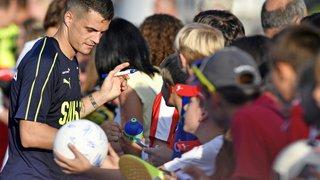 """Football - Xhaka: """"je porte depuis bientôt neuf ans les couleurs de ce pays, ma patrie !"""""""