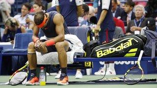 Tennis - US Open: Nadal contraint à l'abandon face à Del Potro, Djokovic balaie Nishikori