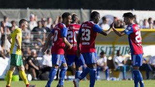 Coupe de Suisse: Echallens résiste une mi-temps face à Bâle avant de s'incliner 2-7