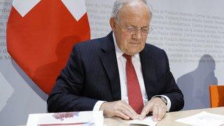Conseil fédéral: Johann Schneider-Ammann compterait démissionner à la fin de l'année