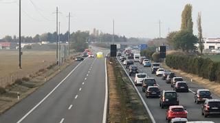 L'autoroute A1 a été fermée suite à un accident mortel