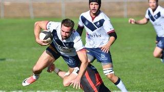 Le Nyon Rugby Club repart du bon pied face à Stade Lausanne