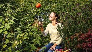 Grâce à ses apprentissages, elle remporte un prix pour son petit jardin à Nyon