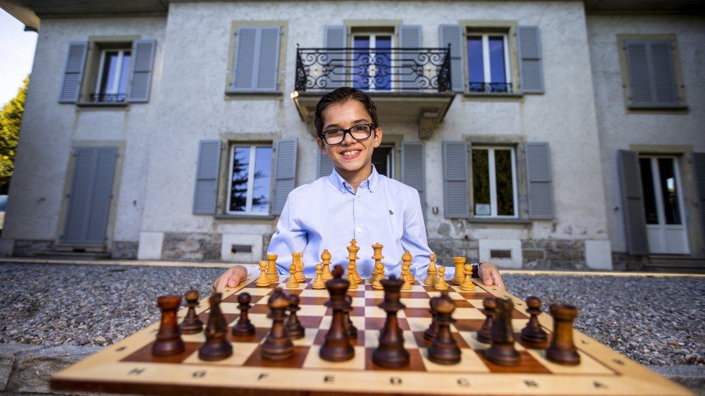 Dorian Asllani, membre du Cercle d'échecs de Nyon, jouera pour le titre mondial des moins de 12 ans.
