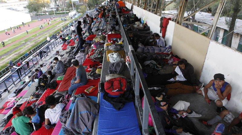 Mexique: quelque 5500 migrants en route pour les Etats-Unis sont arrivés à Mexico