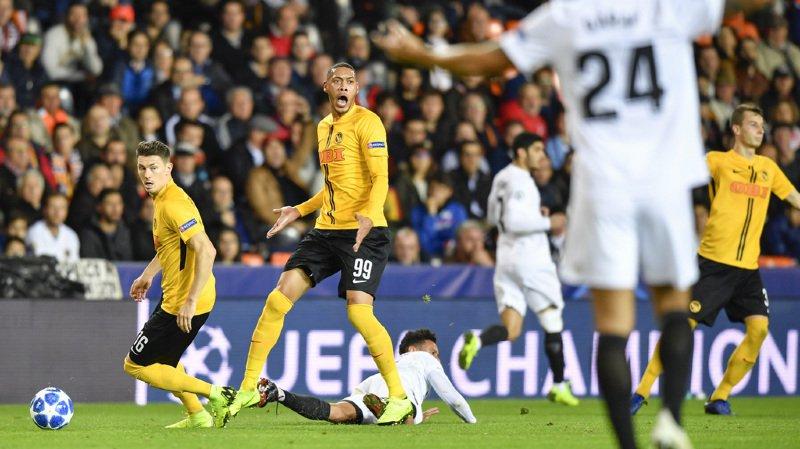Football – Ligue des champions: Young Boys battu 3-1 par Valence