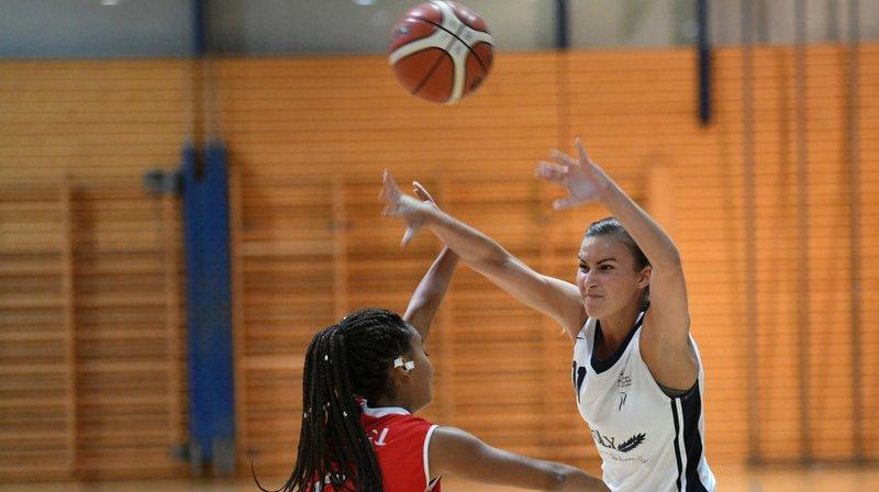 Nyon Basket Féminin a étouffé DEL d'emblée