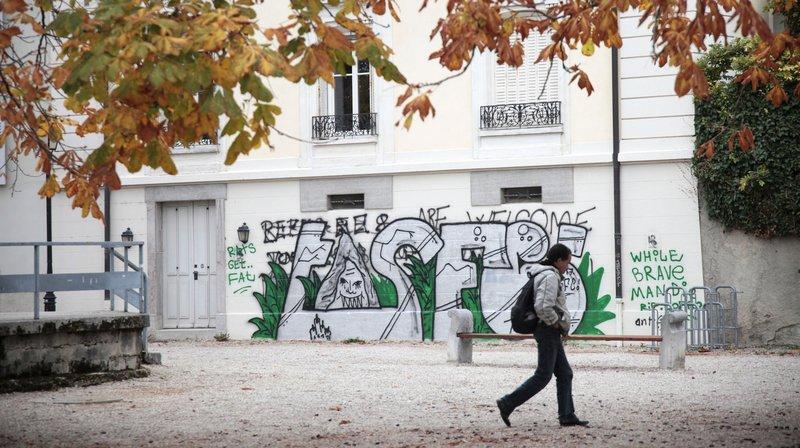 La Ville de Nyon veut obliger les propriétaires à effacer tags et graffitis