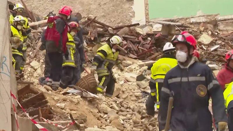 Immeubles effondrés: un sixième corps découvert dans les décombres à Marseille