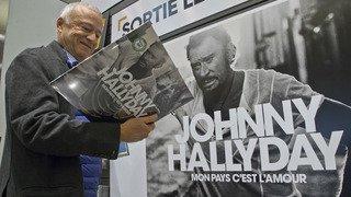 L'album posthume de Johnny Hallyday vendu à plus de 630'000 exemplaires