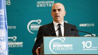 Votations fédérales du 25 novembre: Alain Berset qualifie l'initiative pour l'autodétermination d'anti-prospérité