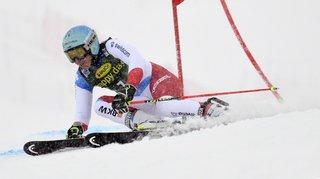 Ski - Géant dames à Sölden: Brignone remporte la 1re manche, Holdener et Lara Gut dans le top ten