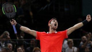 Tennis – Masters de Paris-Bercy: le surprenant Karen Khachanov bat Novak Djokovic en finale