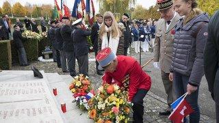 Première Guerre mondiale: hommage aux Suisses morts pour la France