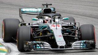 Formule 1 – Grand Prix du Brésil: Lewis Hamilton en pole position devant Sebastian Vettel