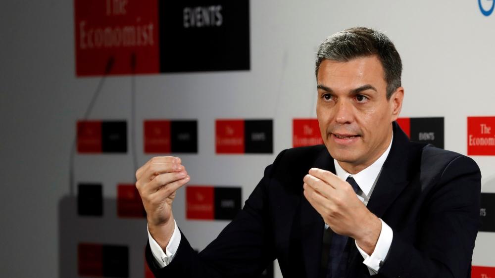 Le chef du gouvernement espagnol, Pedro Sanchez, a agité, hier, la menace d'un veto sur le projet d'accord sur le Brexit.