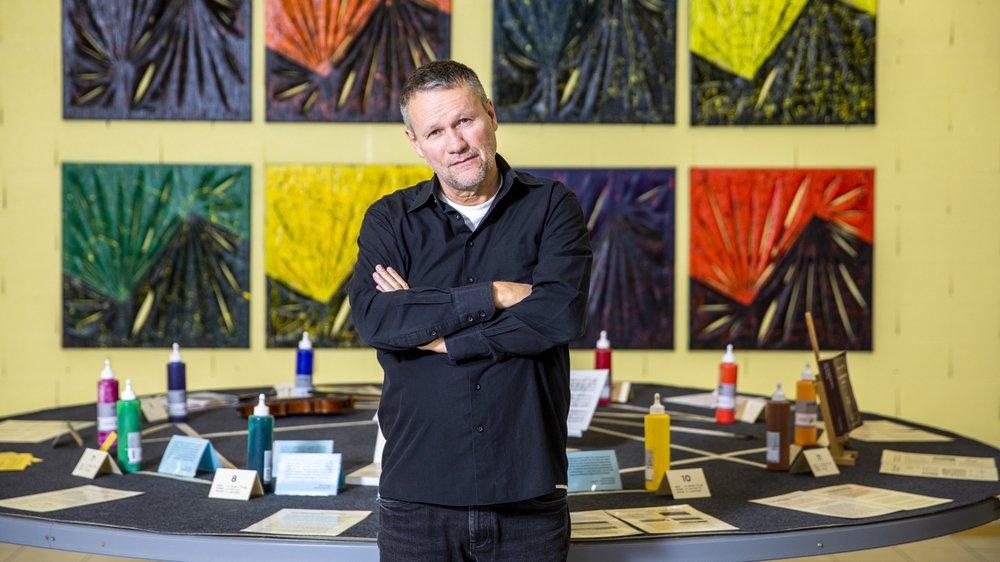 Jean-Claude Bossel présente, à Préverenges, le fruit de trente ans de réflexion autour des ses nombreuses passions.