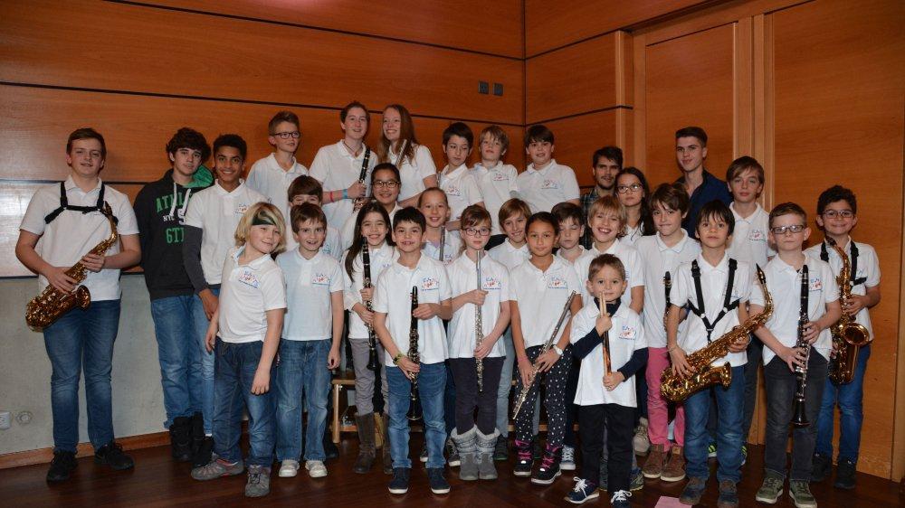 Les jeunes musiciens de l'Ecole de musique de Terre-Sainte présenteront leur concert-audition plein d'émotion.