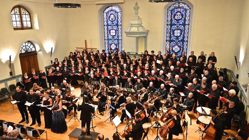 Deux grandes œuvres romantiques sont au programme des concerts de l'Ensemble Vocal et Instrumental de Rolle.