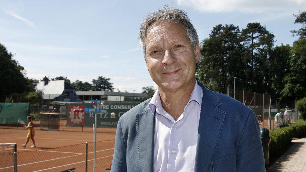 Pierre-Alain Dupuis est le nouveau président du TC Nyon.