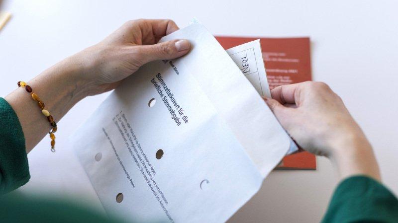 Votations du 25 novembre: une nouvelle erreur s'est glissée dans la brochure du Conseil fédéral