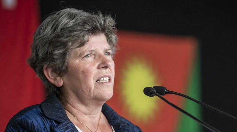 La conseillère nationale vaudoise Alice Glauser (UDC) ne se représentera pas aux élections fédérales de 2019.
