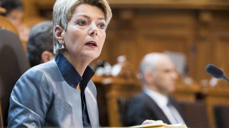 Elections au Conseil fédéral: Karin Keller-Sutter et Hans Wicki candidats du PLR